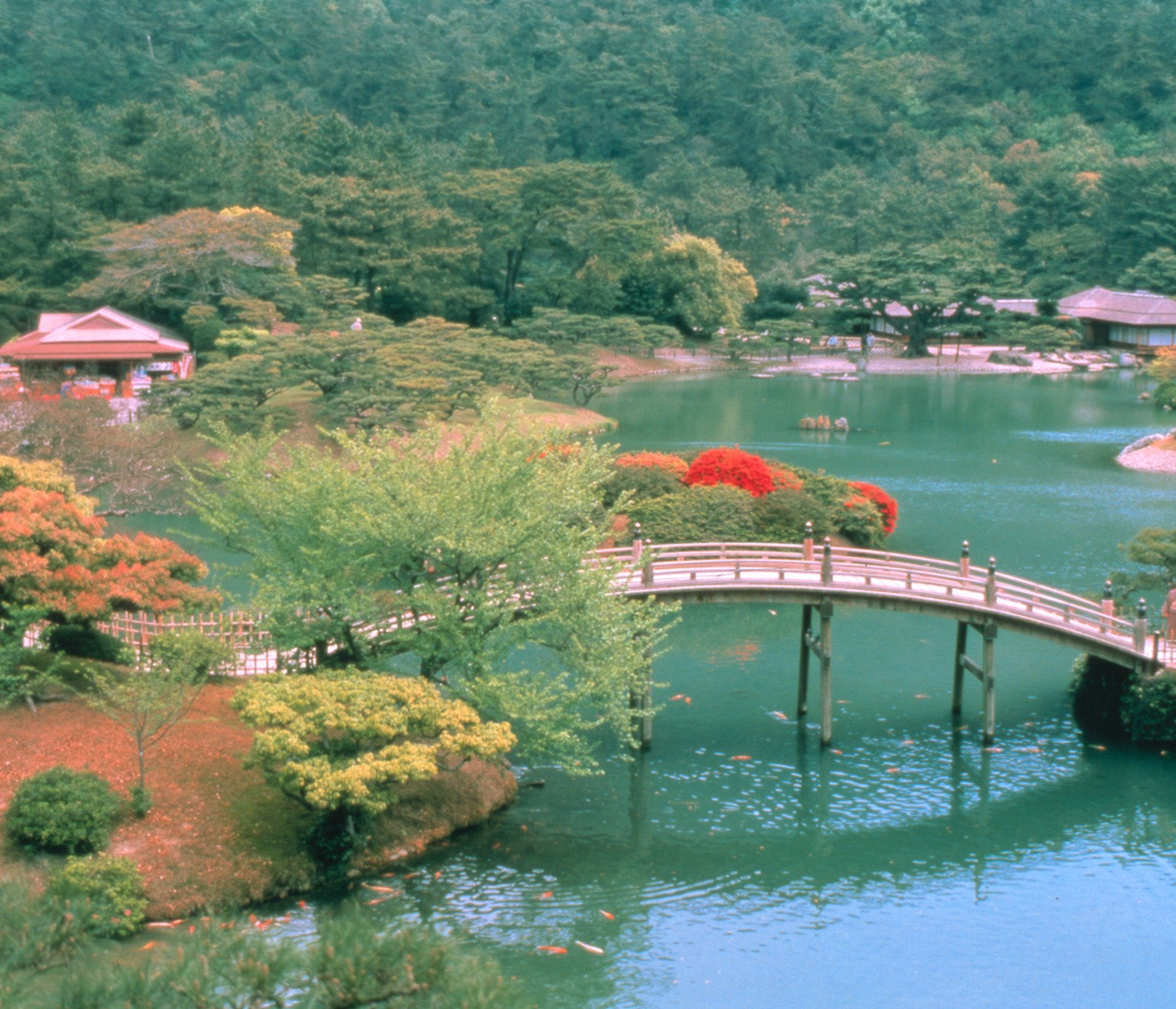 Jardin Ritsurin, Takamatsu - Japon ©Office de tourisme du Japon