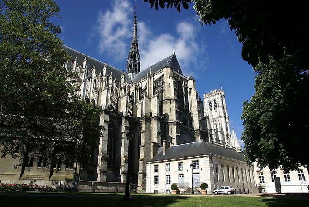 Cathédrale d'Amiens - France ©iStock