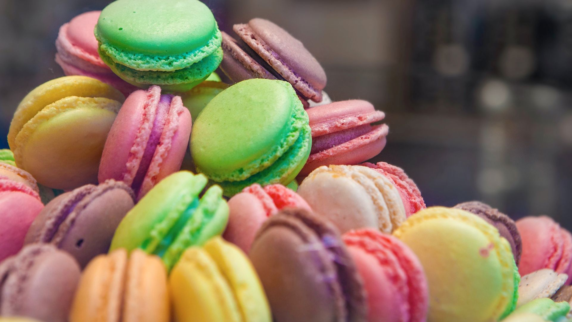 Macarons, Amiens - France