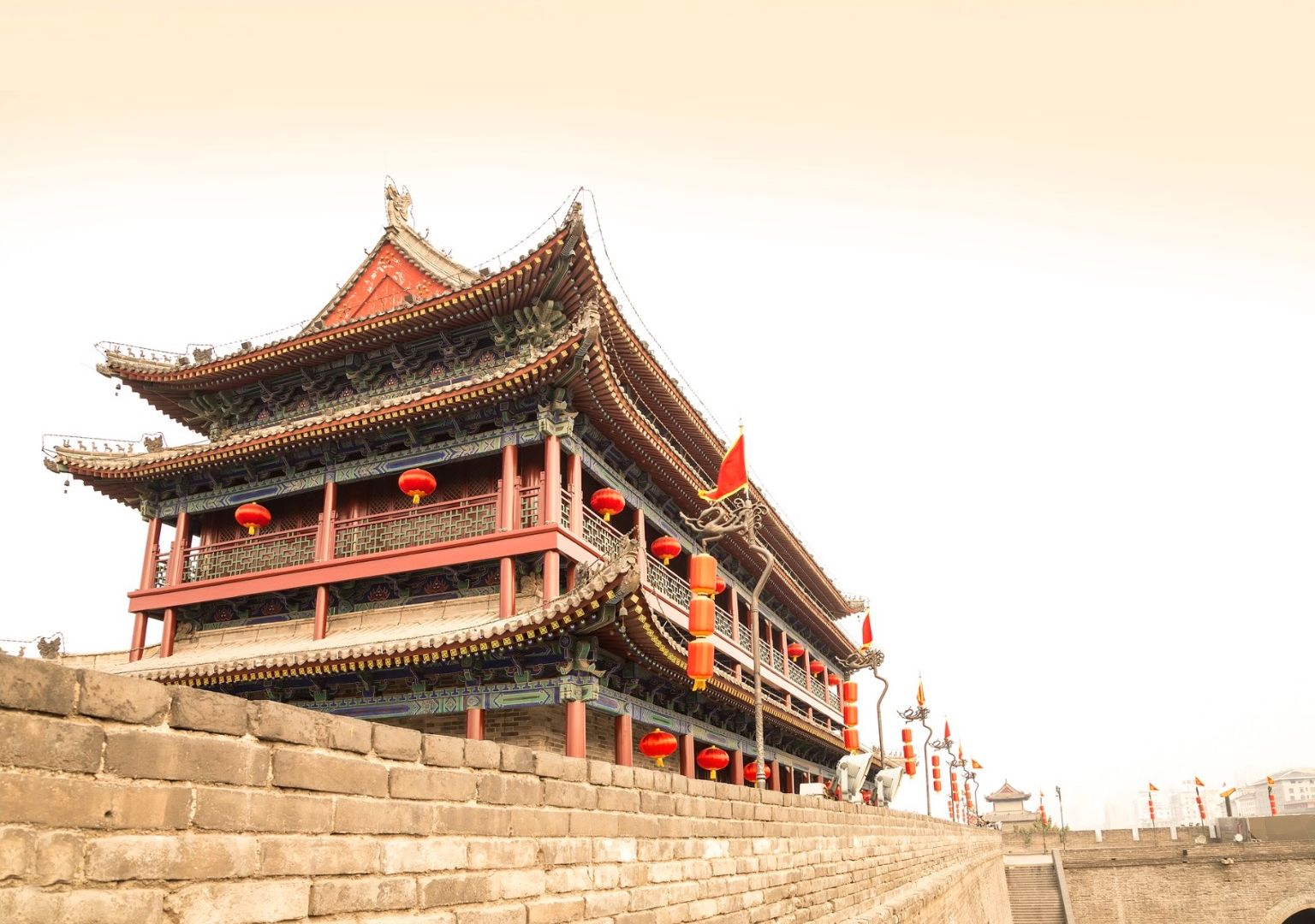 Fortifications, Xi'An - Chine ©Istock