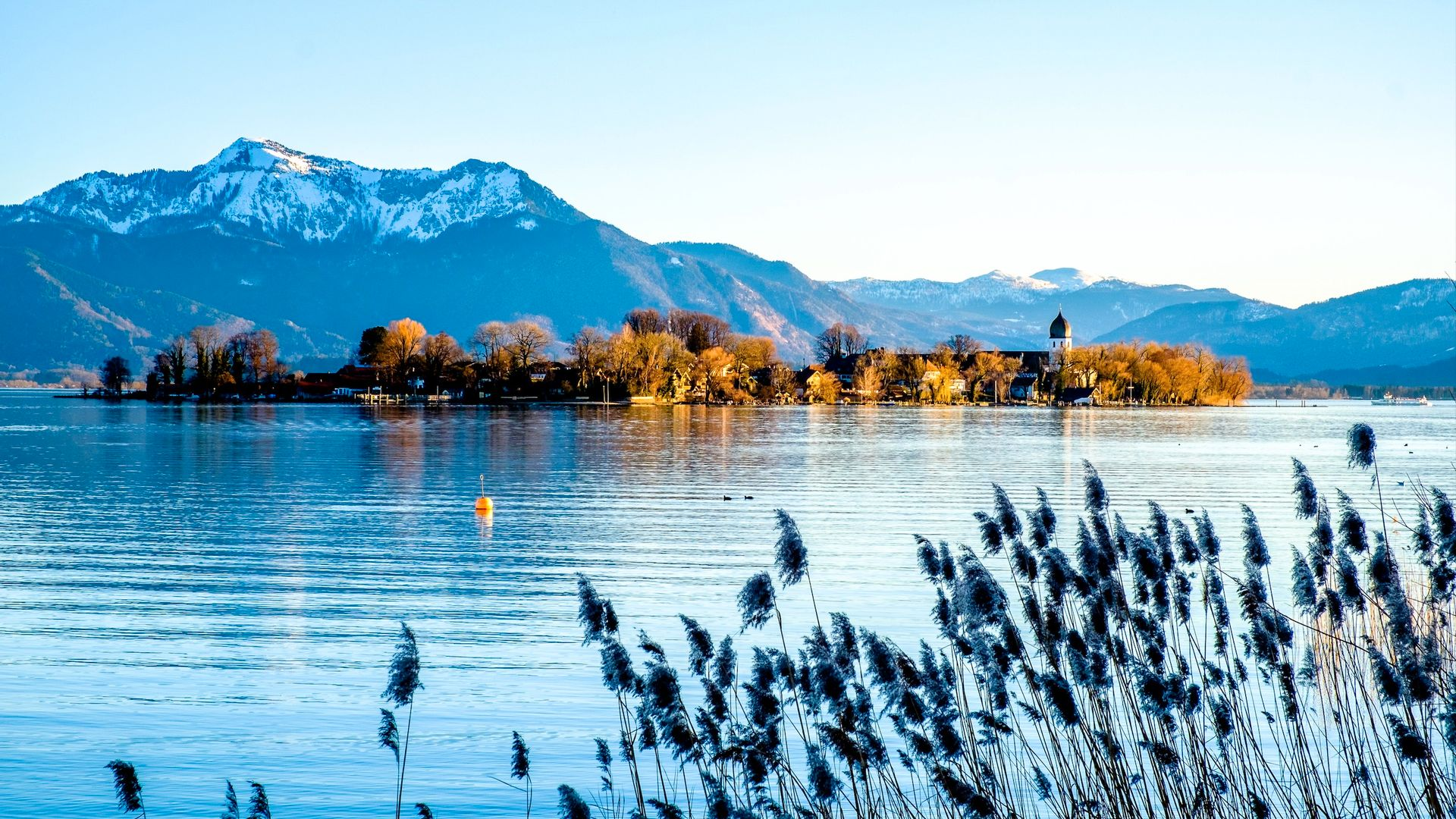 Lac, Chiemsee - Allemagne
