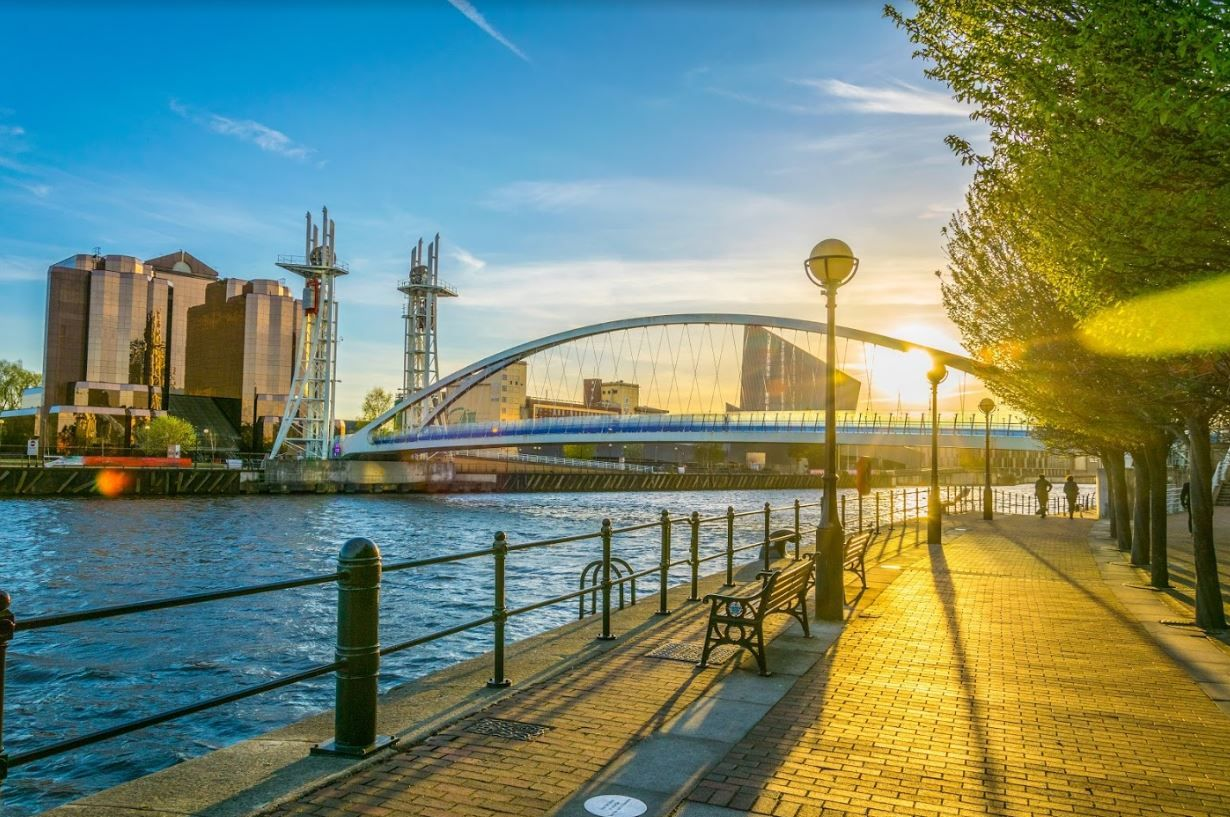 Salford Quays, Manchester - Angleterre