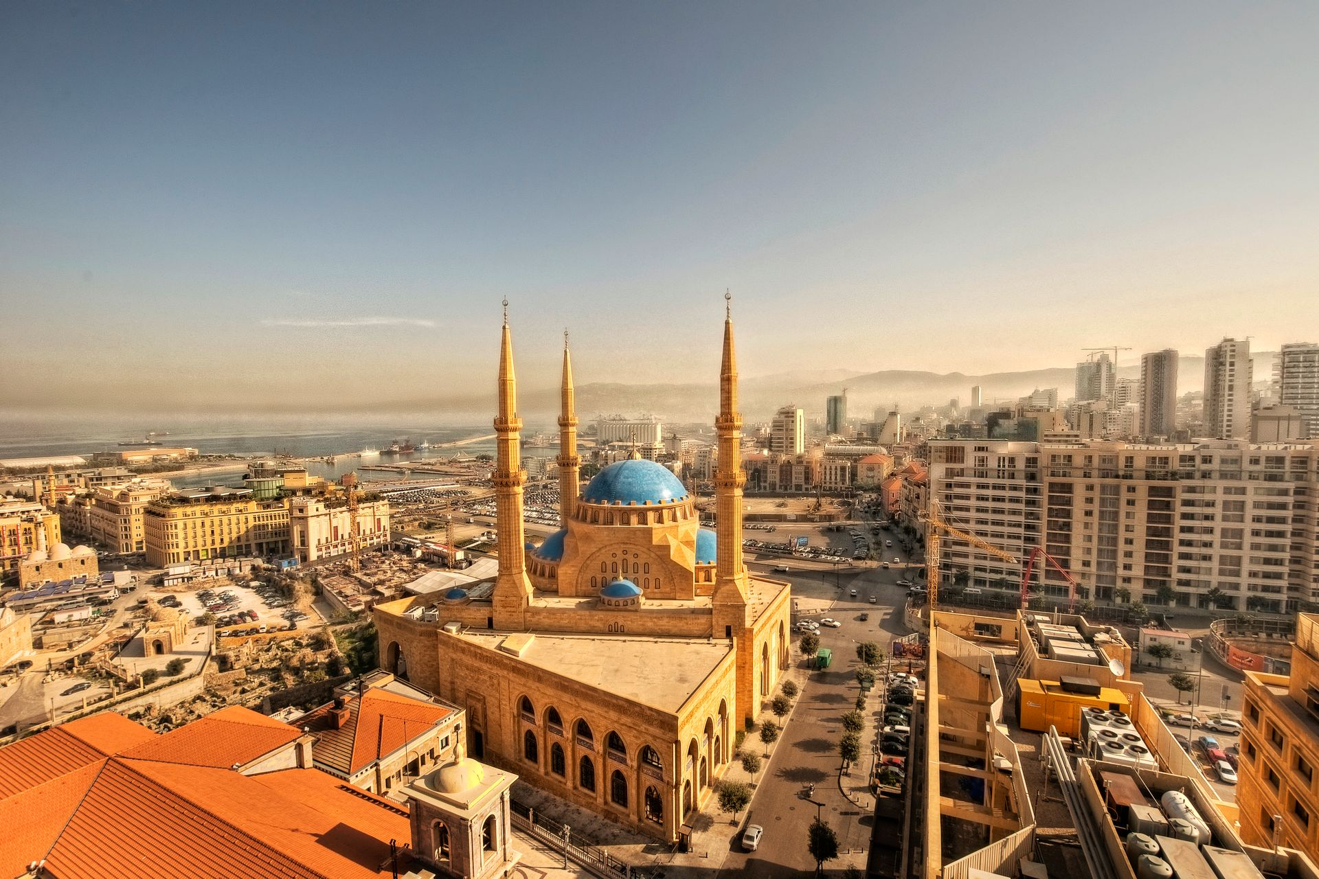 Mosquée Mohamed Al-Amin, Beyrouth - Liban ©iStock