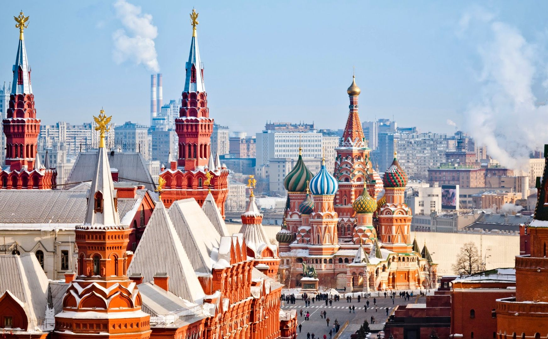 Vue, Moscou - Russie ©Istock