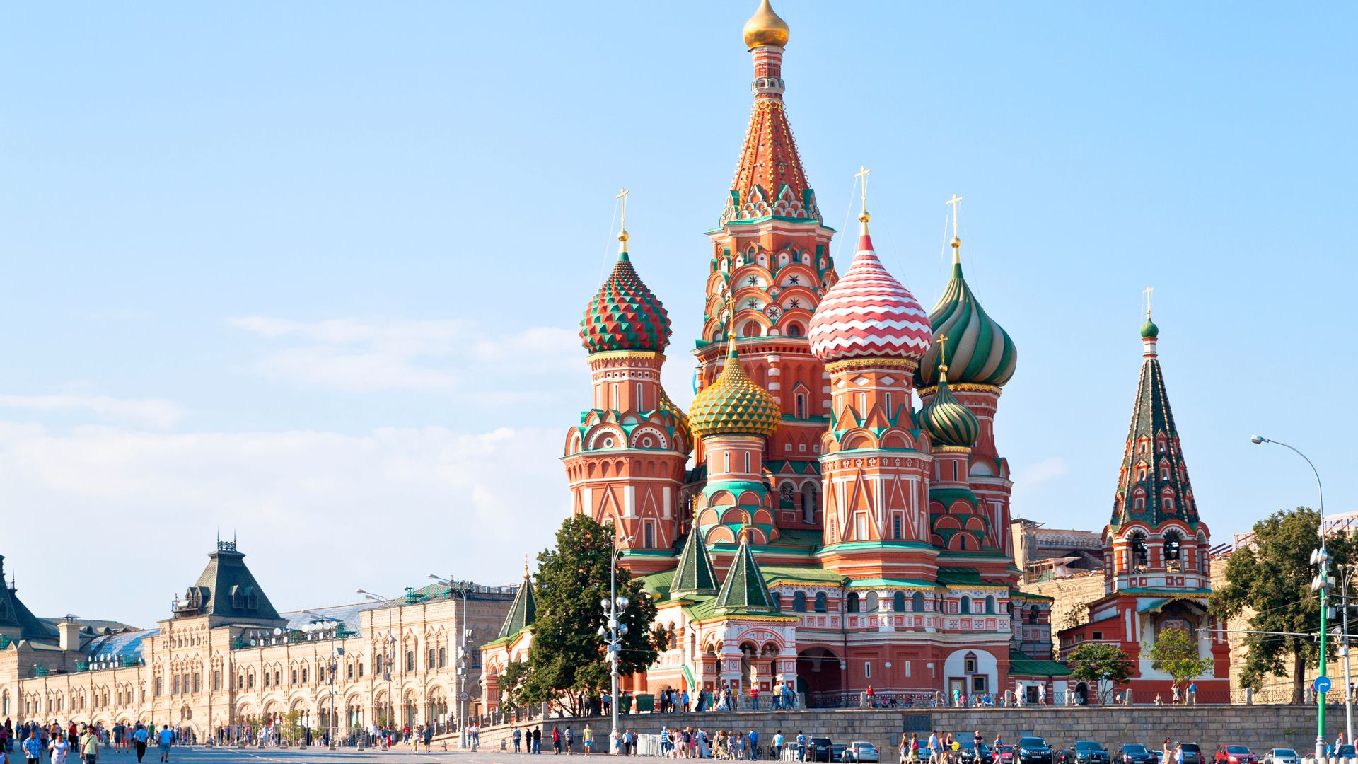 Cathédrale Saint-Basile, Moscou - Russie ©iStock