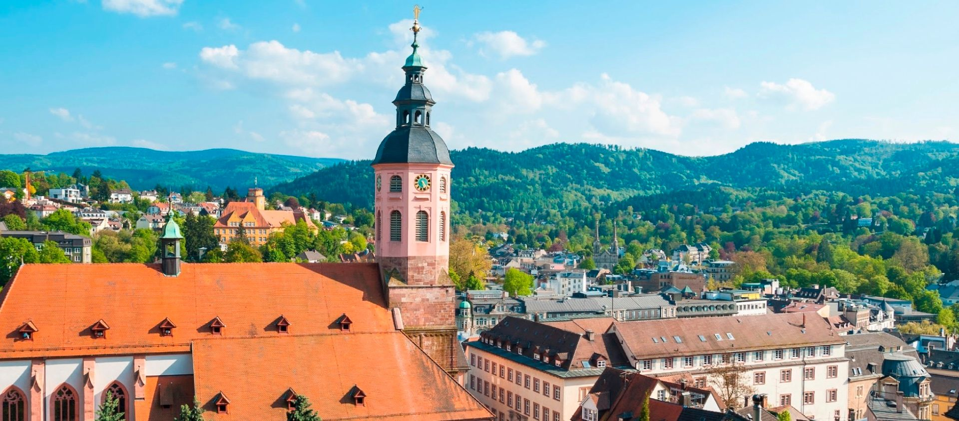 Panorama large, Baden-Baden - Allemagne ©Istock