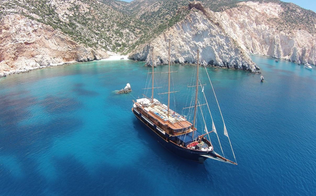 Vue sur le MS Galileo ©Variety Cruises