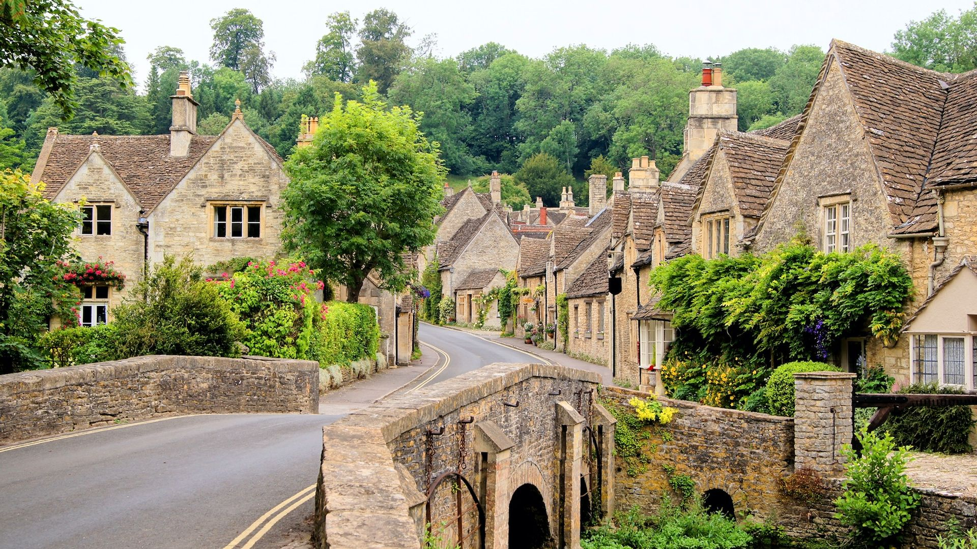 Village, Cotswolds - Angleterre