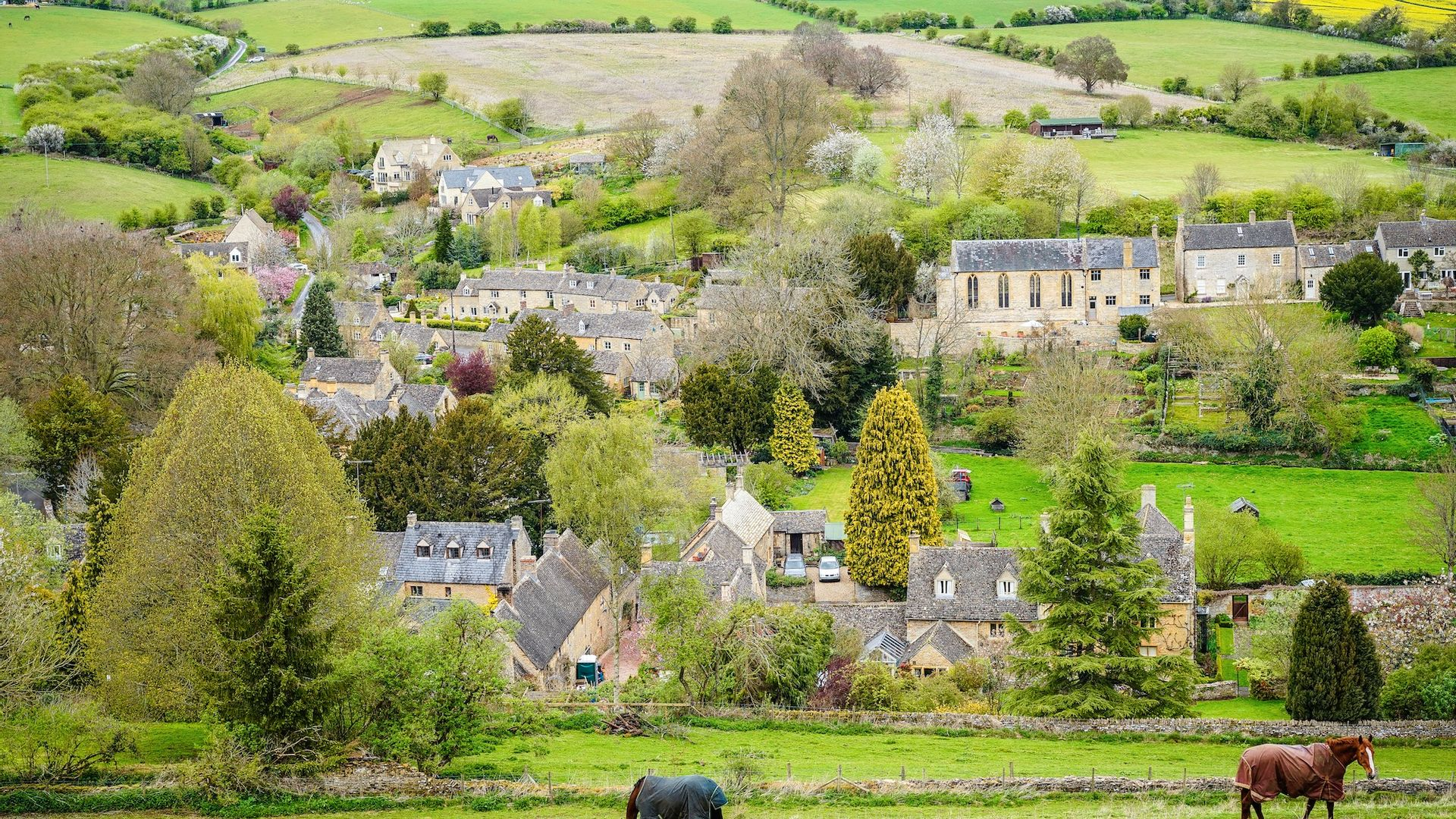 Vue, Cotswolds - Angleterre