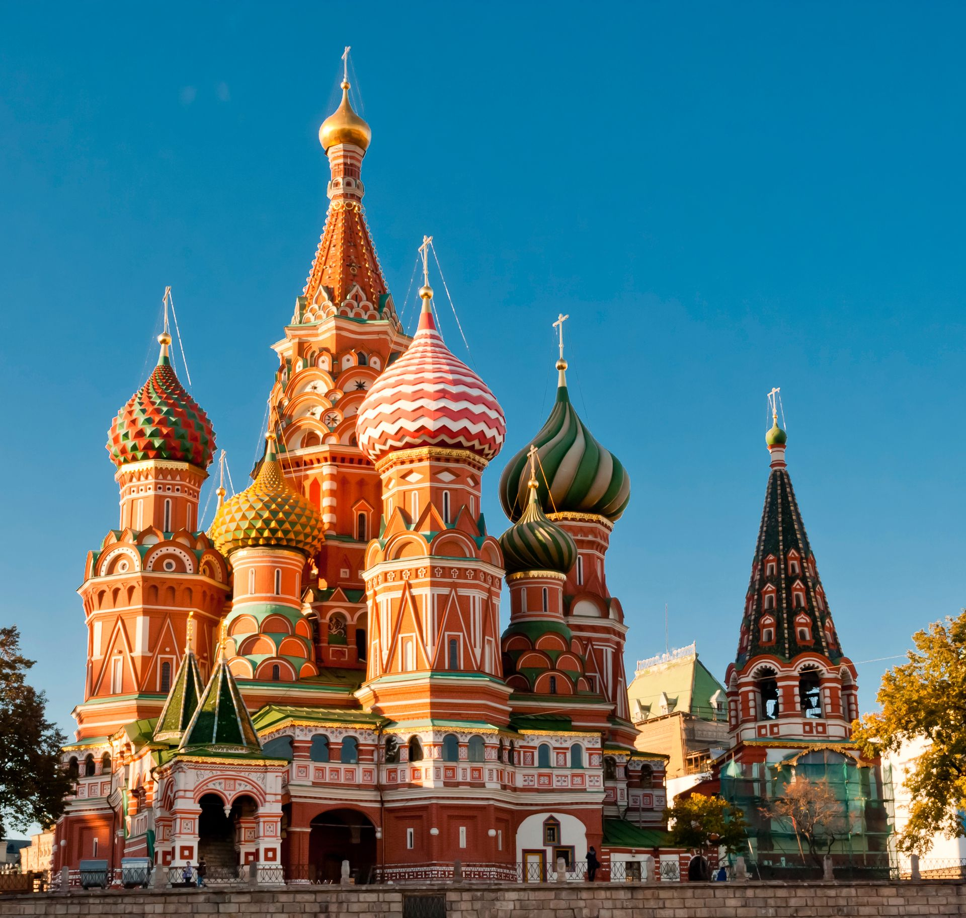 Cathédrale Saint Basile, Moscou - Russie ©iStock