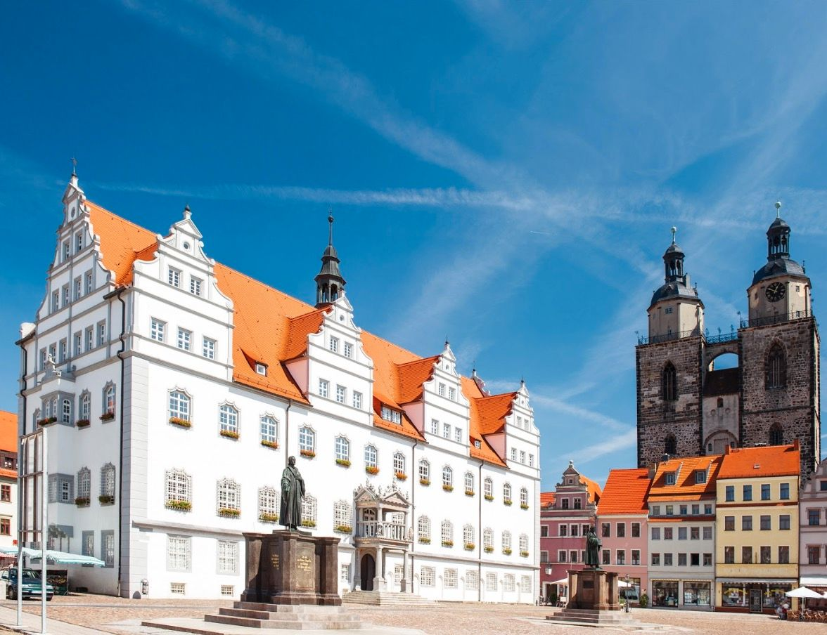 Place marché, Wittenberg - Allemagne ©Istock
