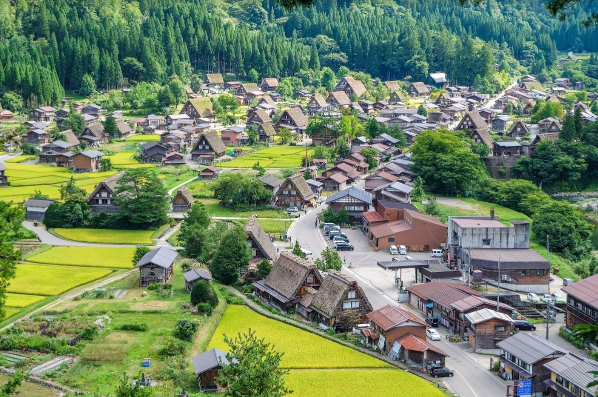 Village historique de Shirakawa-gō - Japon ©iStock