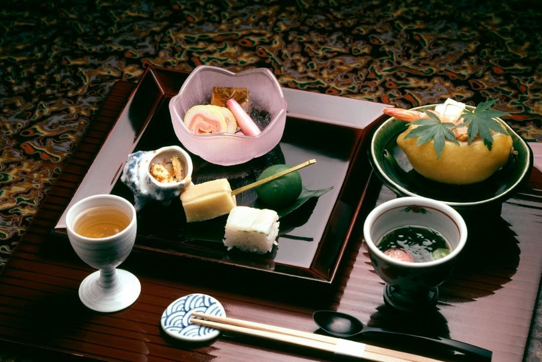Cuisine traditionnelle Kaiseki - Japon