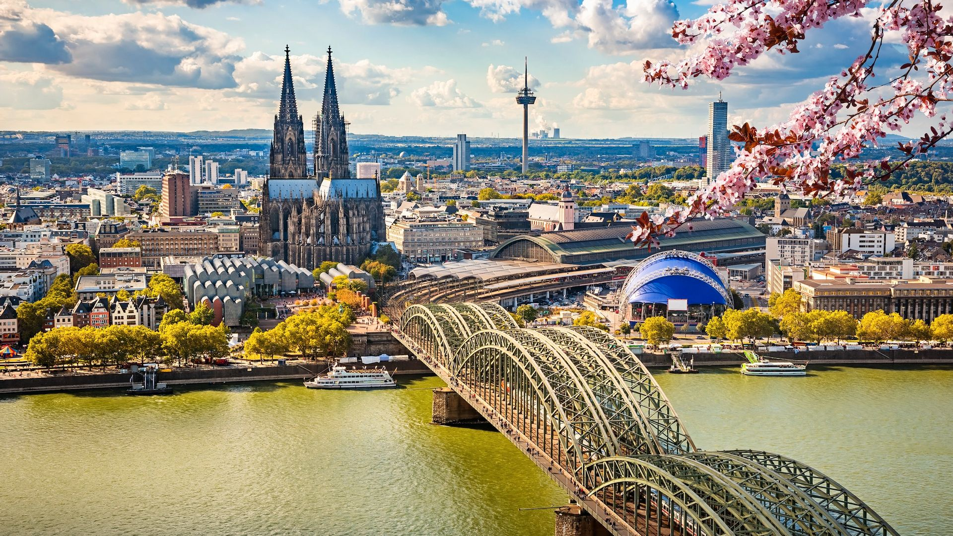 Panorama, Cologne - Allemagne