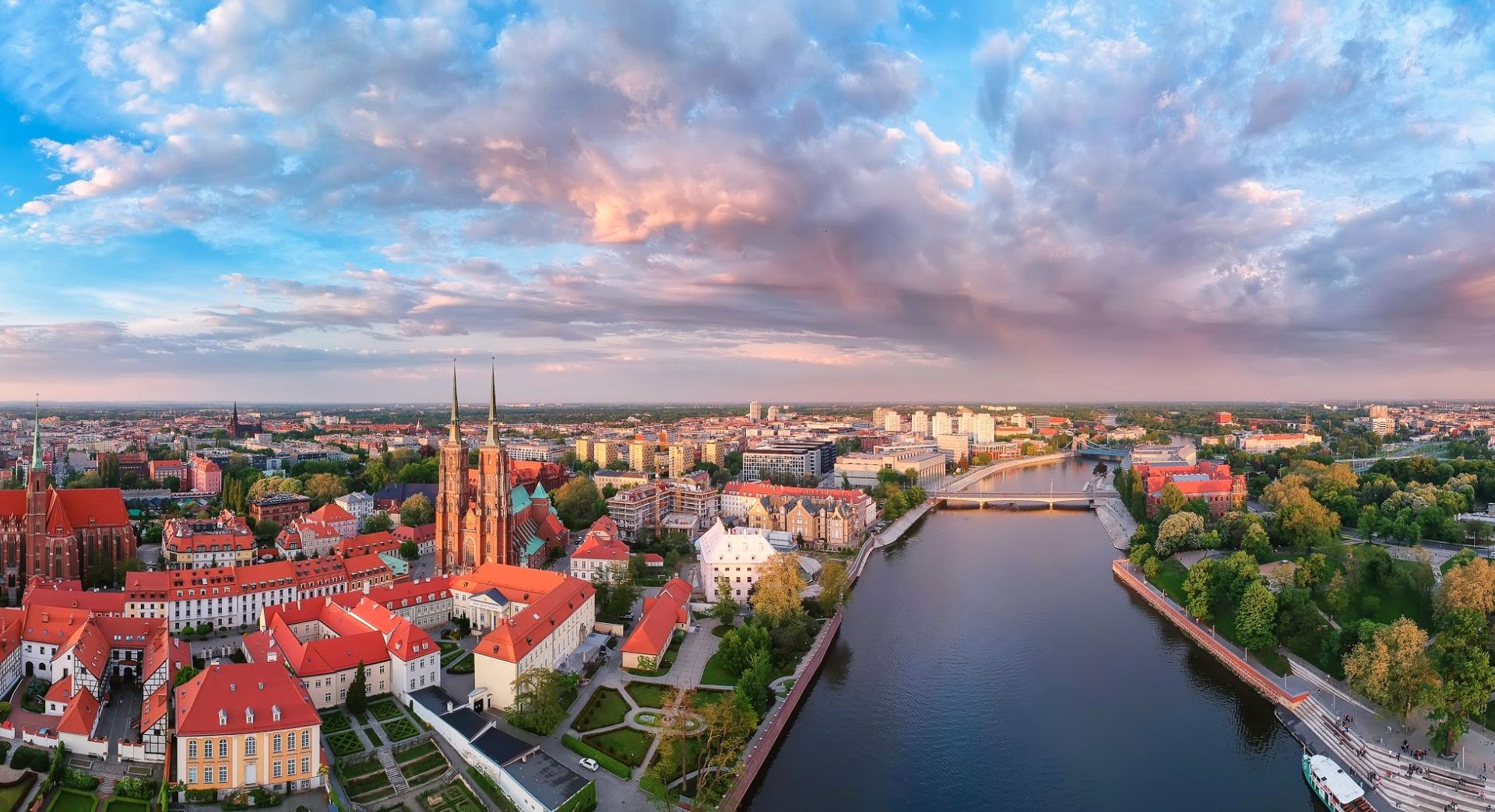 Panorama, Wroclaw - Pologne
