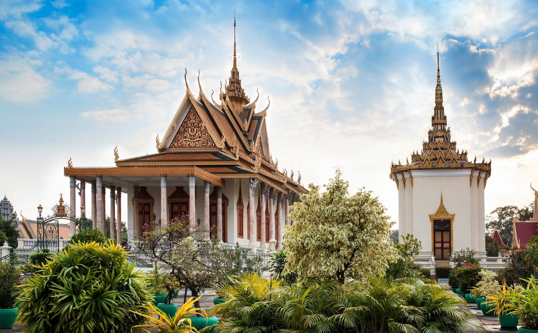 Pagoded'Argent - Cambodge ©Istock