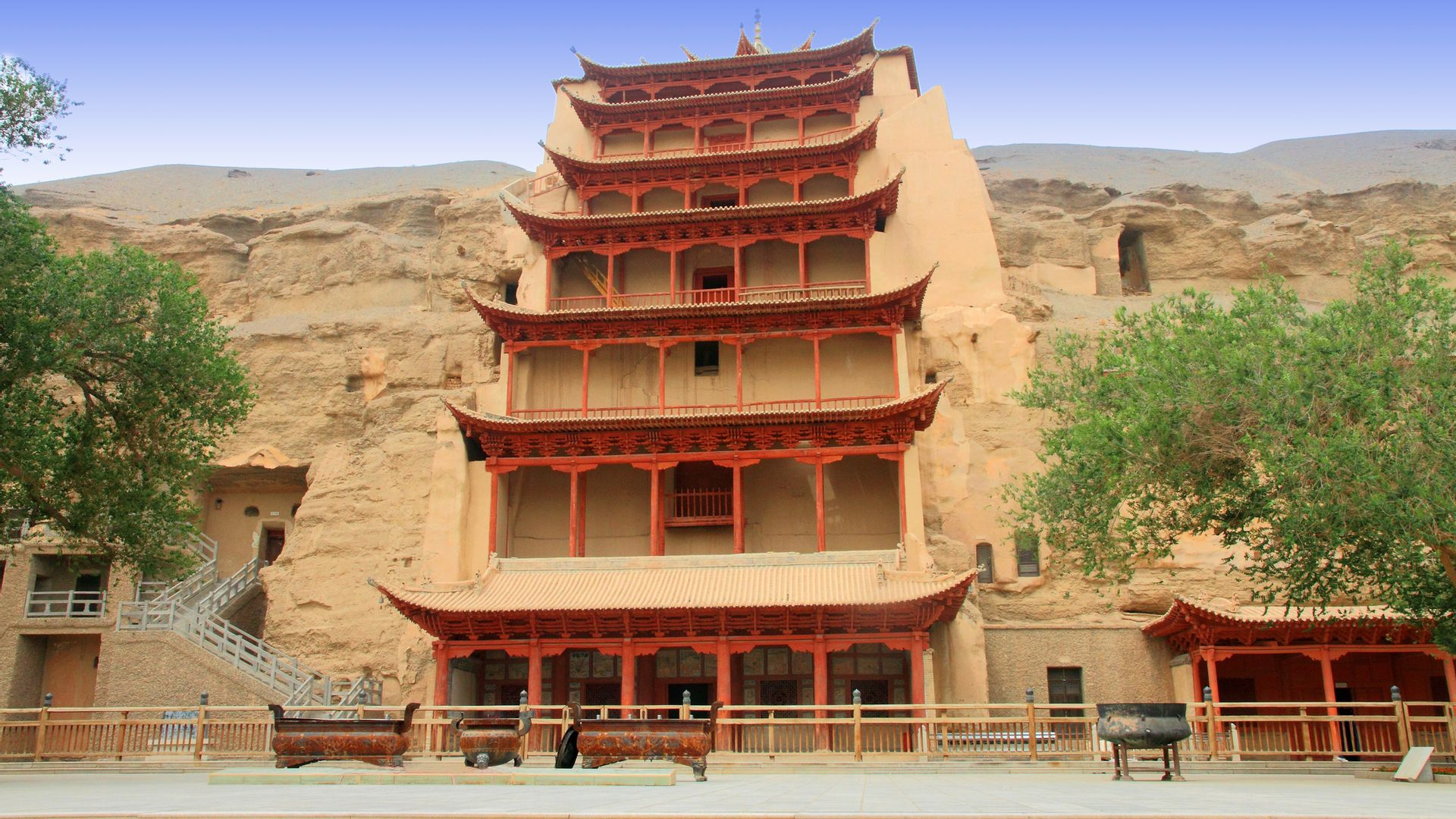Grottes de Mogao, Dunhuang - Chine ©iStock
