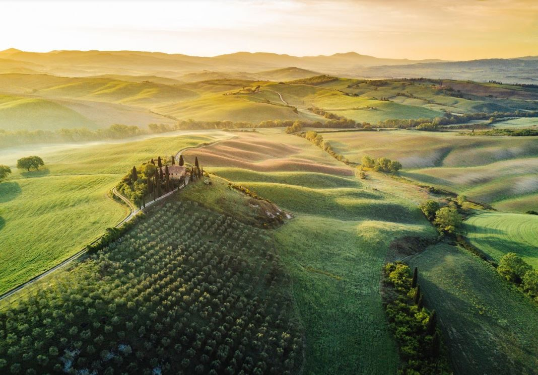 Val d'Orcia - Italie