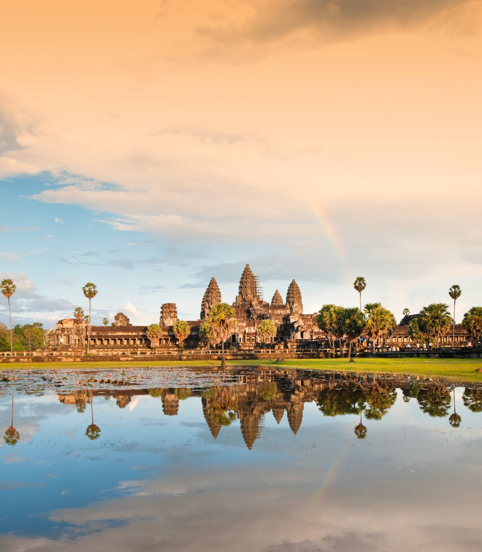 Le temple d'Angkor Vat - Cambodge ©iStock