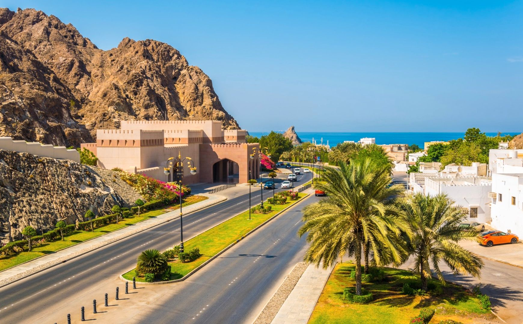 Route, Mascate - Oman