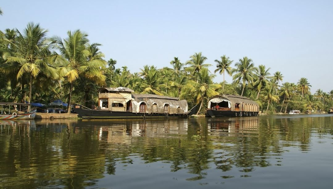 House-boat dans les Backwaters - Inde ©Thinkstock Photos