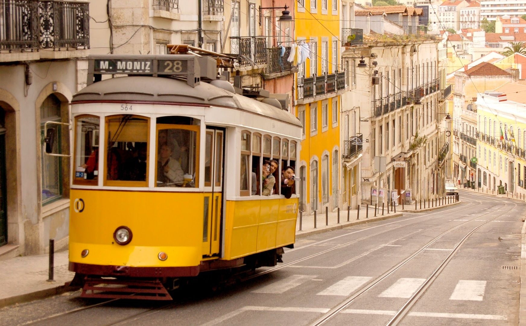 Funiculaire, Lisbonne - Portugal ©Thinkstock
