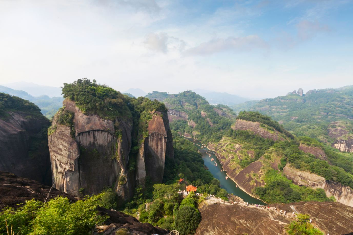Le mont Wuyi - Chine