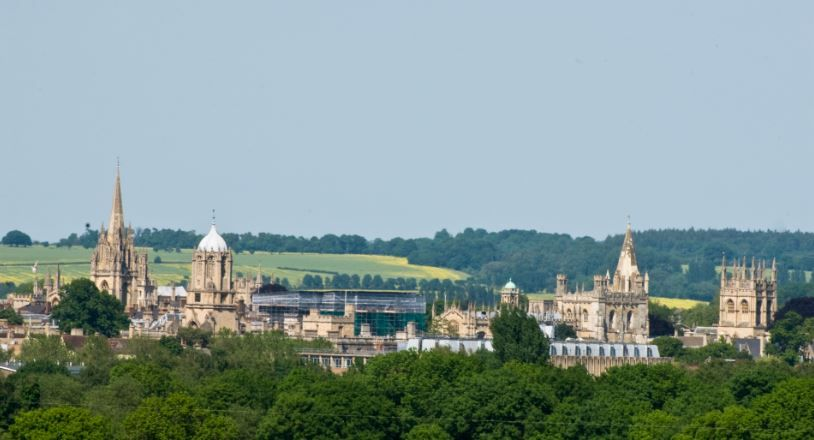 Panoramic d'Oxford - Angleterre