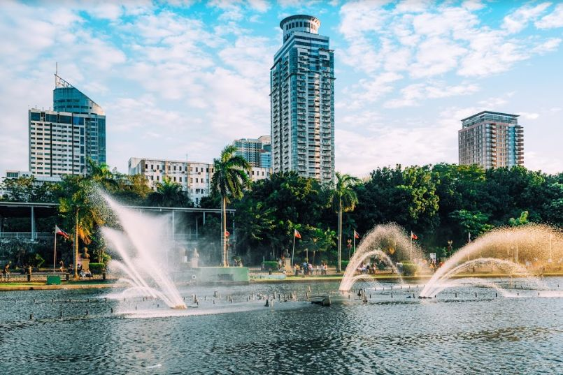 Parc Rizal, Manille - Philippines