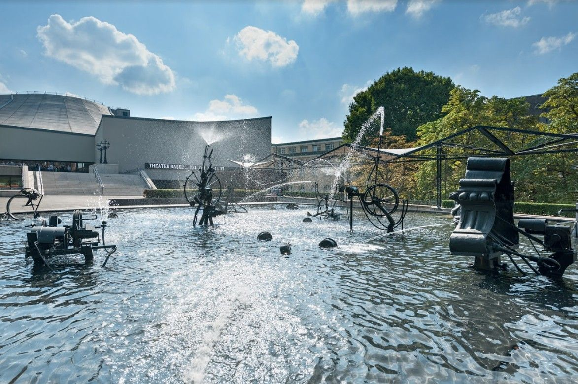 Fountain Tinguely ©Andreas Zimmermann Fotografie