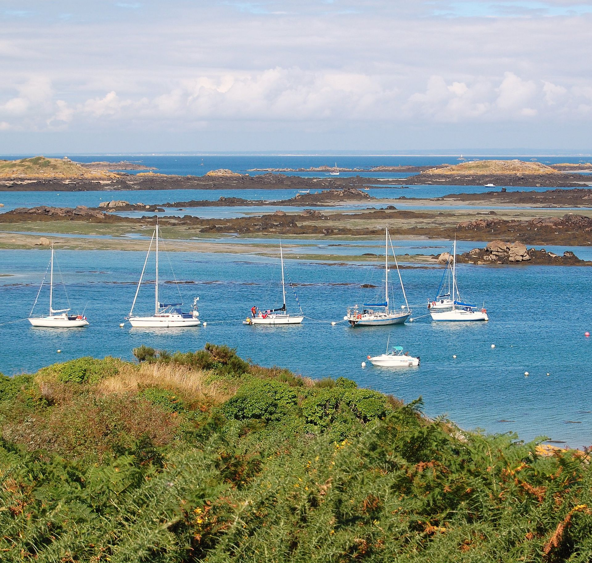 Îles Chausey, Normandie - France ©Wikipedia