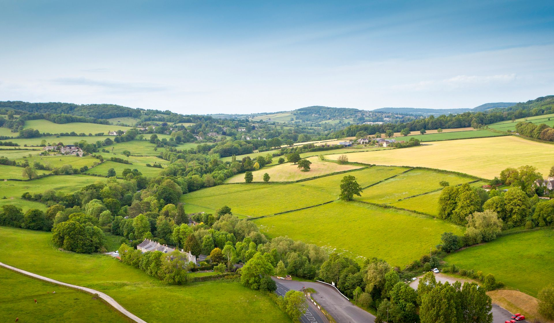 Collines des Cotswolds - Angleterre